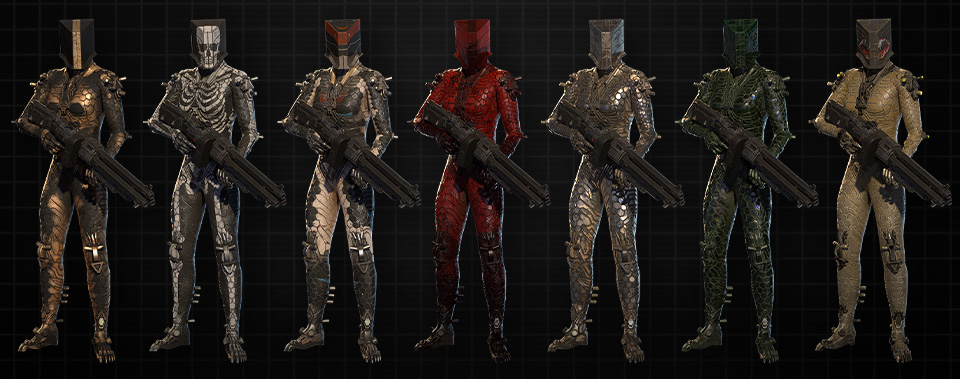 Youngblood Update107 Skins