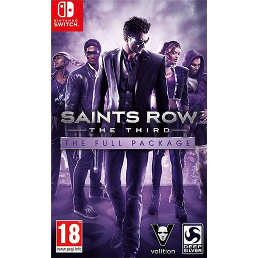 Saints Row IV Re-Elected arriva su Nintendo Switch