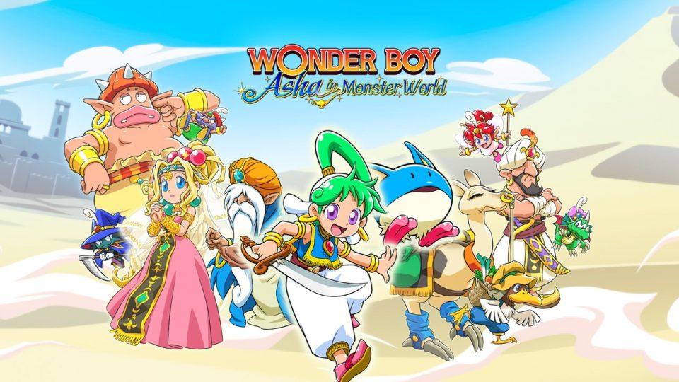 Wonder Boy: Asha in Monster World su PS4 e Switch sarà il 28 maggio 2021